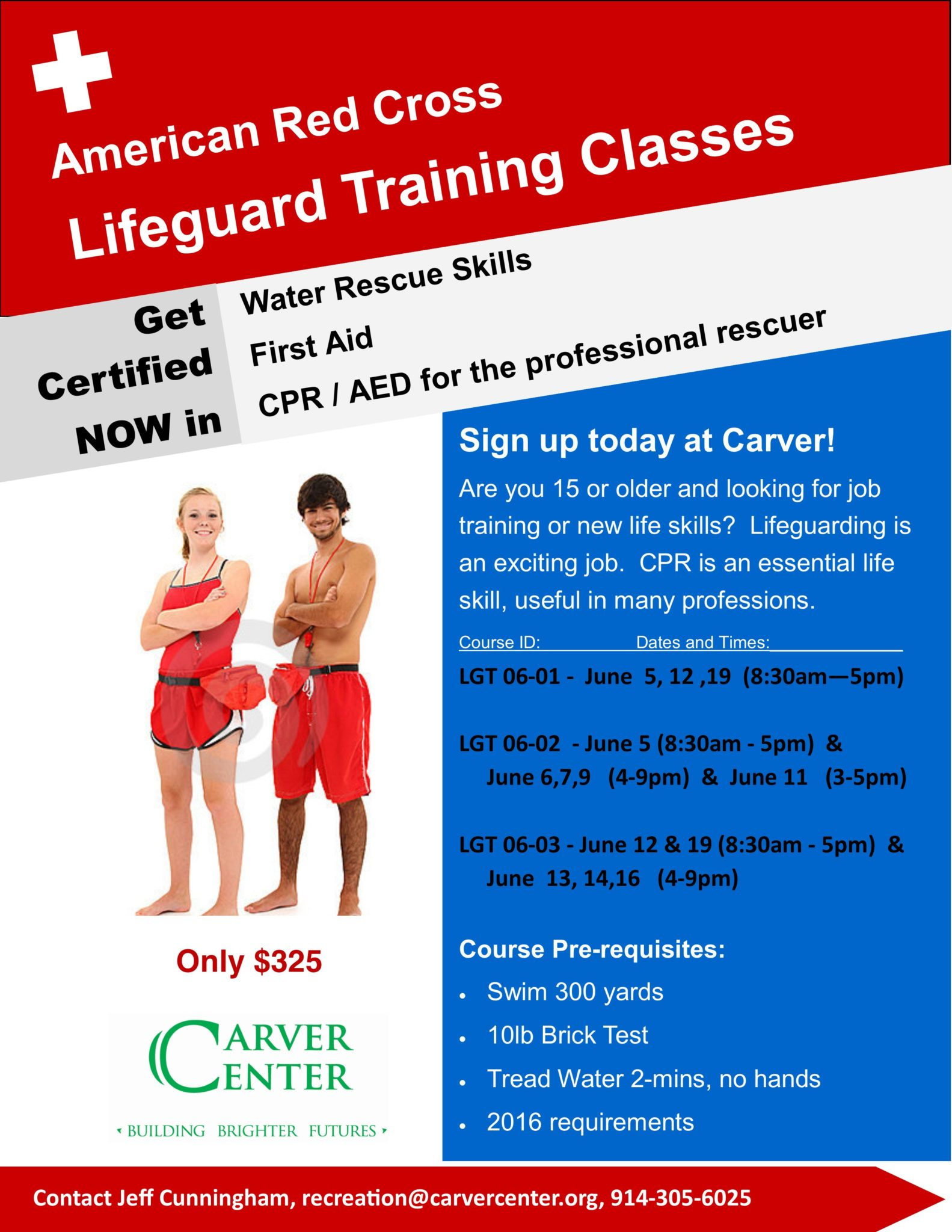 Lifeguard Training June 2016